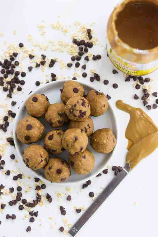 easy cookie dough bites