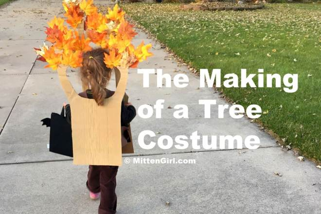 The Making of a Tree Costume