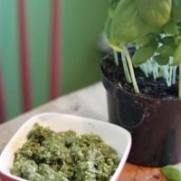Pesto med solrosfrön