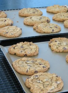 Ch Chip Cookies on Cooling Racks Pic
