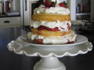 Strawberry Vanilla Shortcake May 9 2012