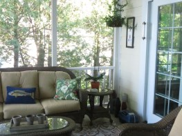 Screened Porch Open for Summer!