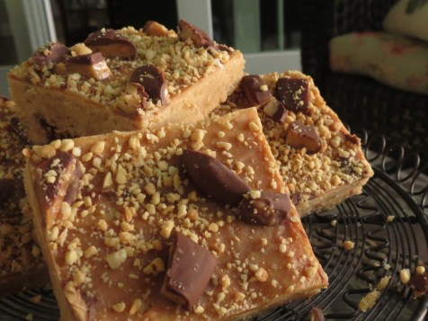 Peanut Butter Heath Bar Blondie 2