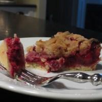 Cranberry Crumb Tart