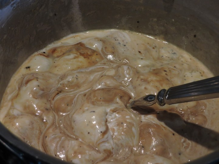 Capuccino Fudge Mixture Cooking
