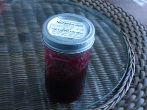 Hedgerow Jam from my local farmer