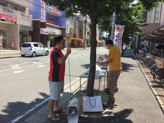 2017.7.19 ライフ百舌鳥店前 リコール演説.jpg