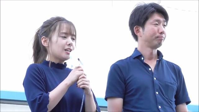 堺市長選挙 山田菜々(元NMB48)永藤への応援演説 2017.9.18.jpg