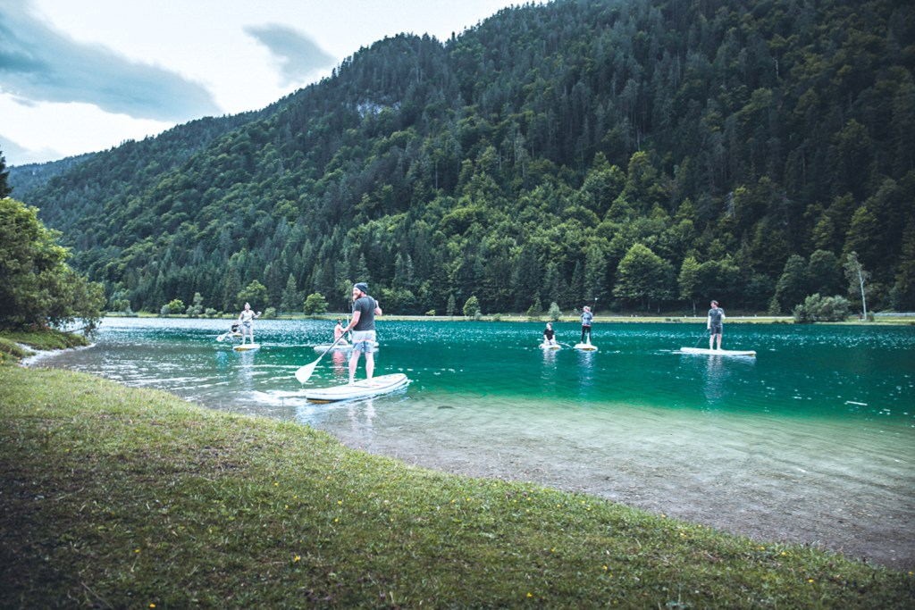 SUP am Pillersee