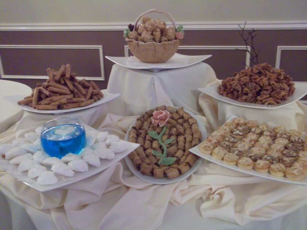 Kosher pastry table