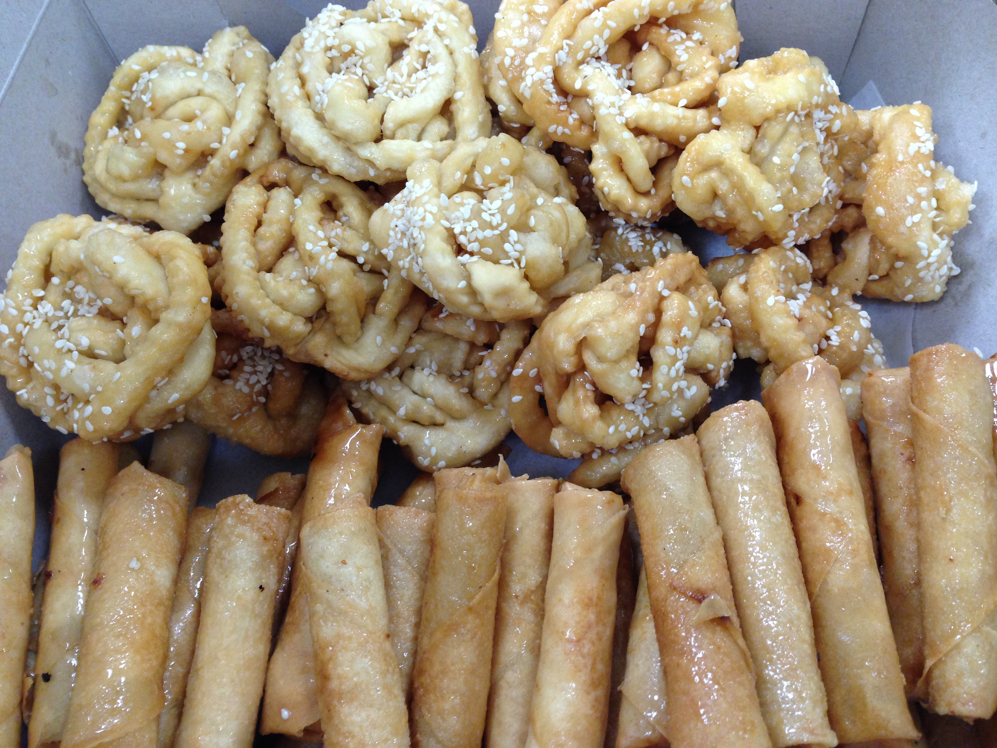 wedding reception sweets