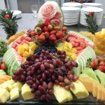 Fruit Display created by Mitzuyan a kosher catering Toronto