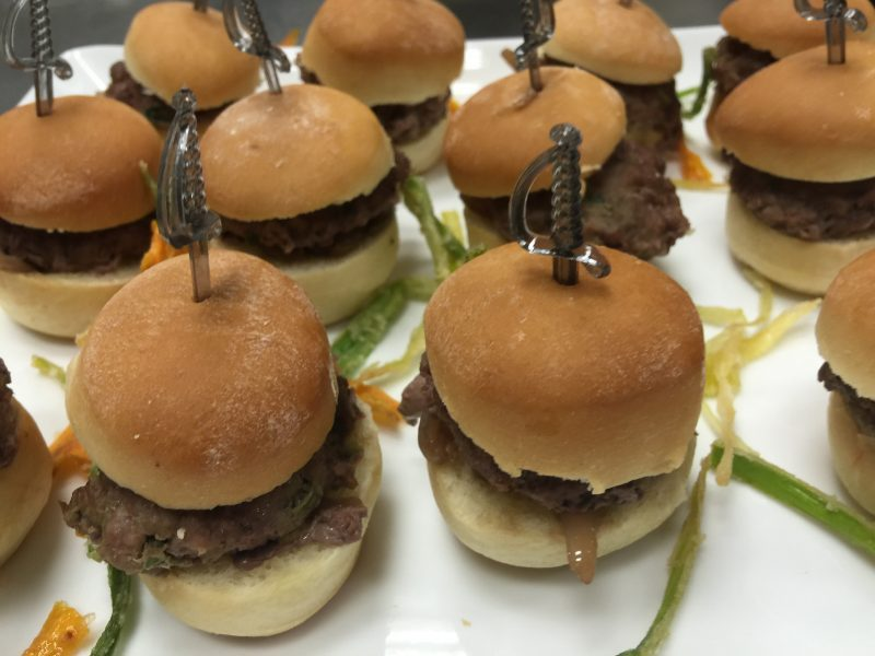 Kosher Sliders Appetizer