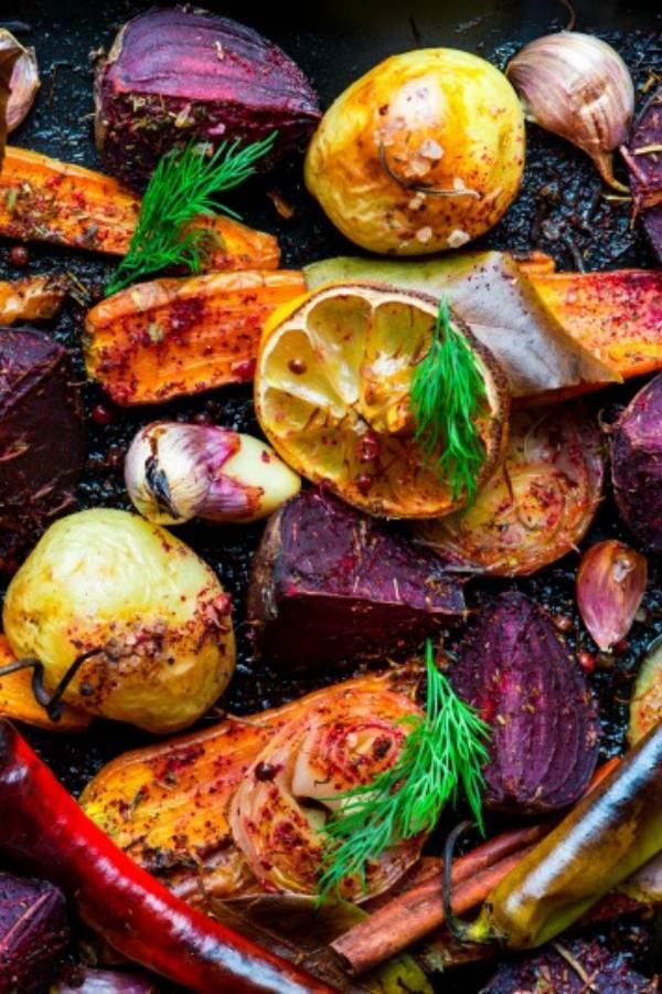 Kosher Roasted vegetables