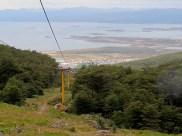 Do meio da trilha já se tem essa vista da cidade.