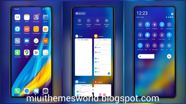 Remix Os Global MIUI 12 Like Control Centre Themes