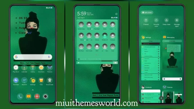 Green Today V11 MIUI Theme for MIUI 11