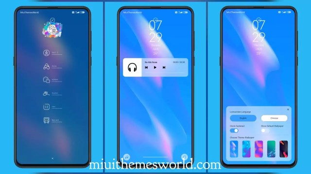 Admiration MIUI 11 Theme with Changeable Wallpapers