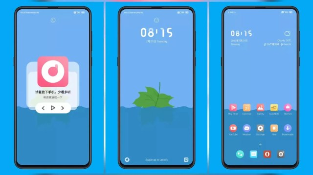 Between Third Party MIUI Theme for MIUI 11