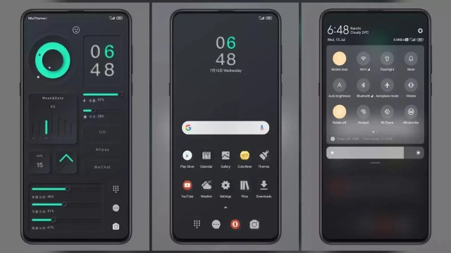 Light luxury texture MIUI 11 Theme | Amazing Lock Screen | Dark Theme