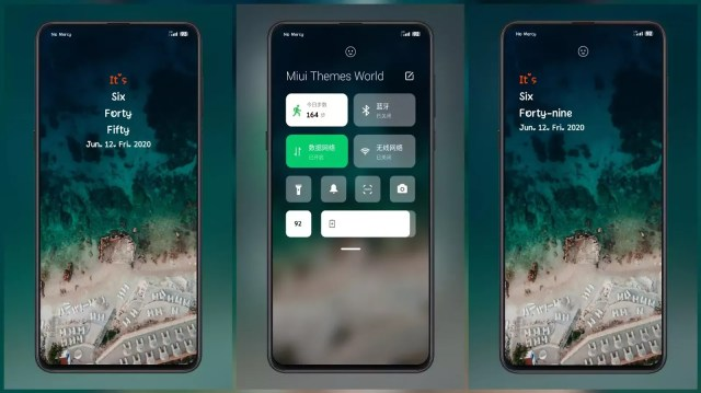 Recall Third Party MIUI 12 Like Control Centre Themes