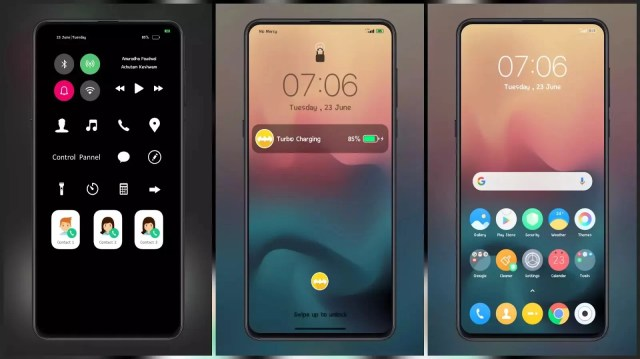 Xui Pro MIUI 12 Like Control Centre Themes for MIUI 11 and MIUI 12