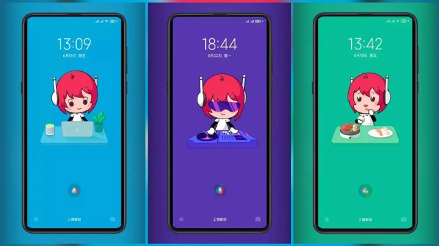 Xiao Ai's daily life MIUI Themes with cute Lock Screen Animation