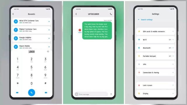 GREEN [Liquid] MIUI 12 Themes for MIUI 11 and MIUI 12 with Amazing Charging Animation