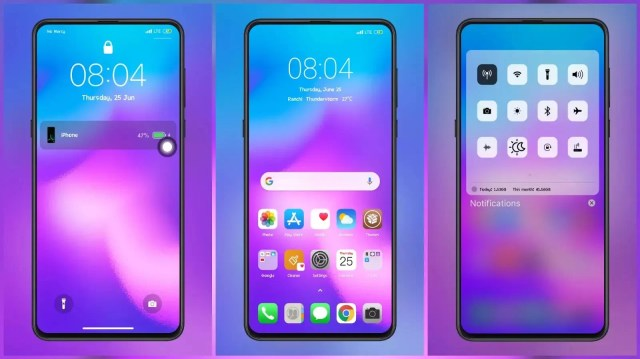 Ios 13 Seven teen pure iOS like MIUI Themes with Amazing Lock Screen Customization for MIUI 11 and MIUI 12