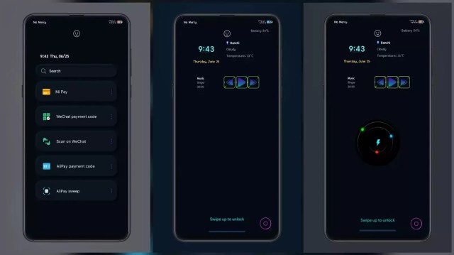 Exclusive Dark Neon Style MIUI Themes with Awesome Charging Animation for MIUI 11 and MIUI 12