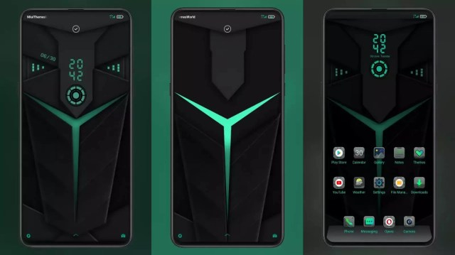 Black Shark 2 v11 MIUI 11 Theme | Animated Lock Screen and Sound
