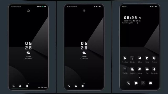 Cool black MIUI Theme for MIUI 11 and MIUI 12 | Complete Dark Mode