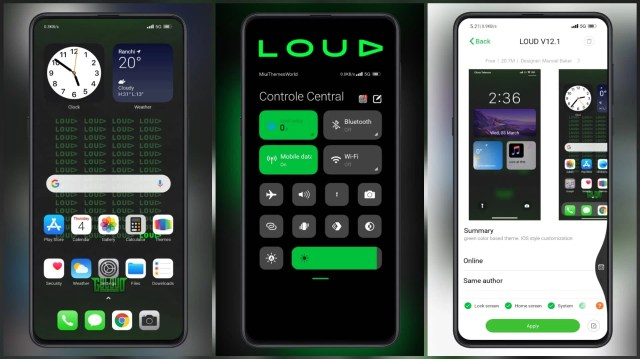 LOUD-V12.1-MIUI-Theme-with-I0S-style-customization
