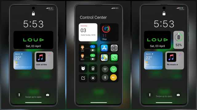 LOUD-V12-MIUI-Theme-with-Green-iOS-Style-Theme-for-MIUI-12