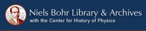 Niels Bohr Library & Archives logo