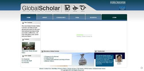 globalscholar screenshot