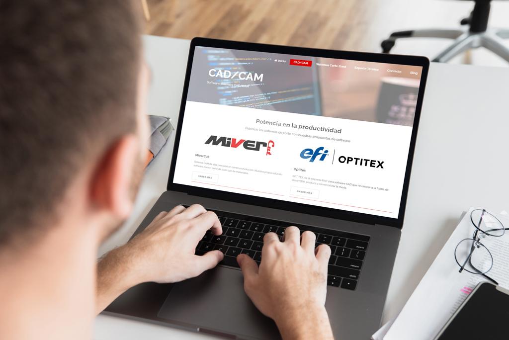 Distribución de software CAD y CAM
