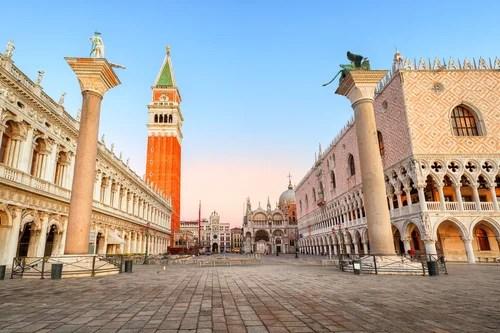 Algunas curiosidades de la plaza de San Marcos de Venecia &mdash ...