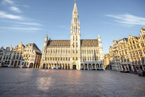 Visitamos el bello Ayuntamiento de Bruselas - Mi Viaje