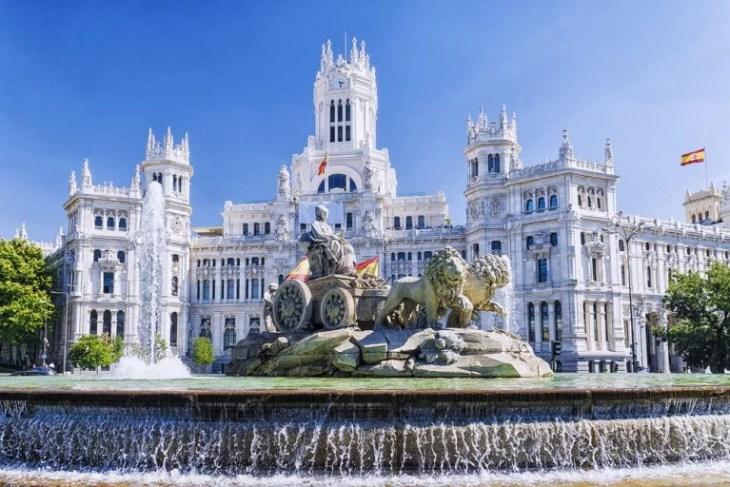 Cómo llegar a la plaza de Cibeles en Madrid - Mi Viaje