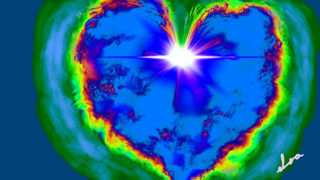 Juntos en unión con Gaia podrán avanzar hacia nuevos planos. Es muy poderosa la fuerza del amor multiplicado, expandiéndose con el latido de cada corazón que se sincroniza al de la tierra.