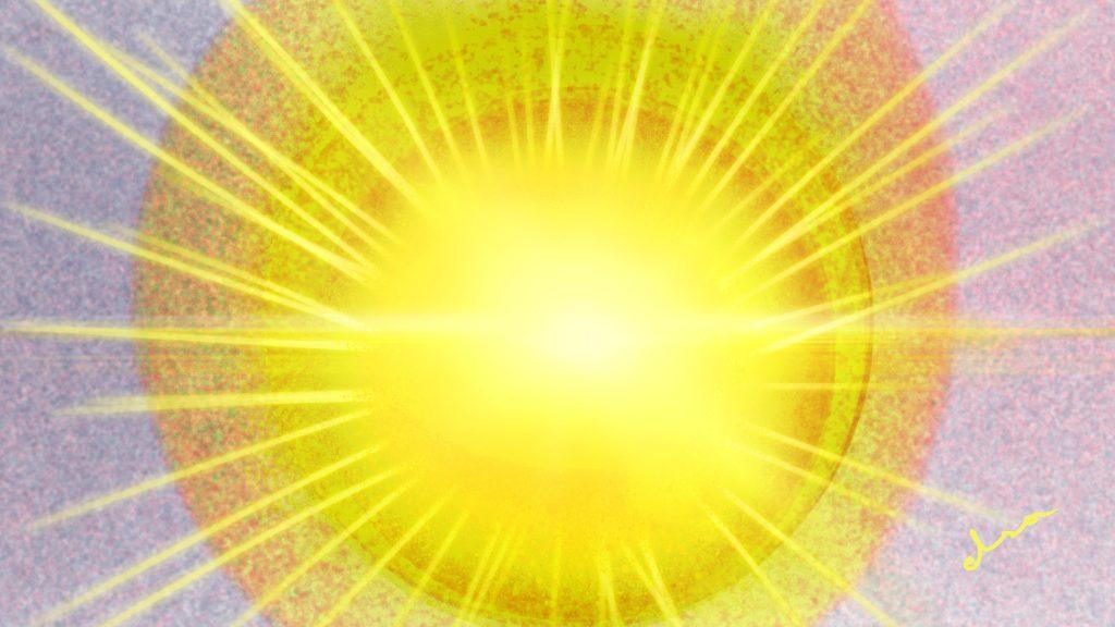 «Un sol emite rayos, imaginen que, por medio de esos rayos, ustedes pueden manifestarse en muchas vidas y estar en cualquier lugar del universo.»