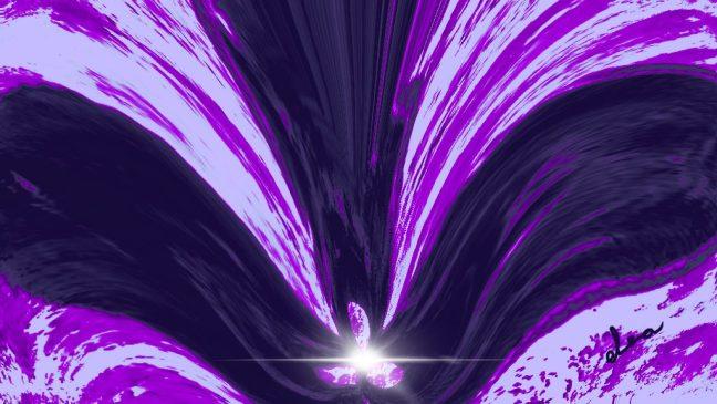 """«""""YO SOY"""" la Ley del Perdón y la Llama Violeta transmutadora que consume toda la energía mal usada por mí desde mi individualización.»"""