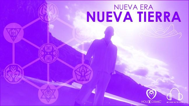 Holocosmic, a través de Mi Voz Es Tu Voz, presenta su nuevo videoclip sobre la Nueva Tierra en la Nueva Dimensión.