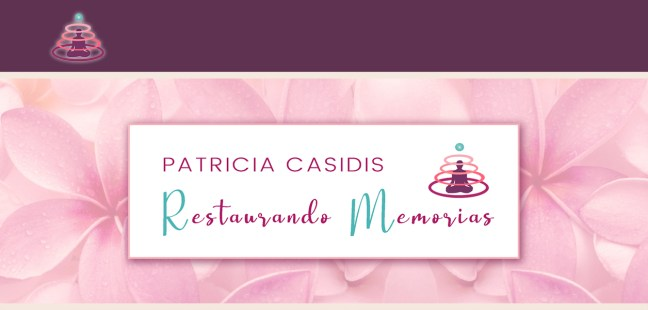 Hoy os compartimos «RESTAURANDO MEMORIAS», la recién estrenada página web de nuestra hermana y colaboradora Patricia Casidis.