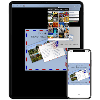 Miwaresoft PostCards for iPhone and iPad