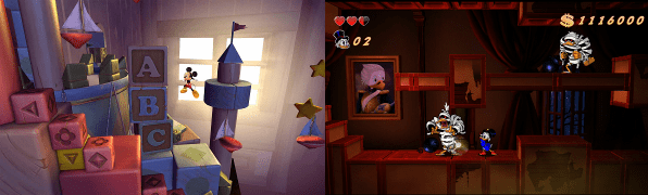 Castle of Illusion y Ducktales: Un ataque de nostalgia.