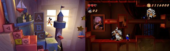 Castle of Illusion y Ducktales: Un ataque de nostalgia.