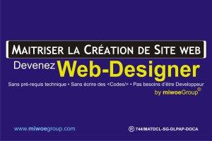Devenez un web-Designer en 7 jours. Maitriser la Création de site web