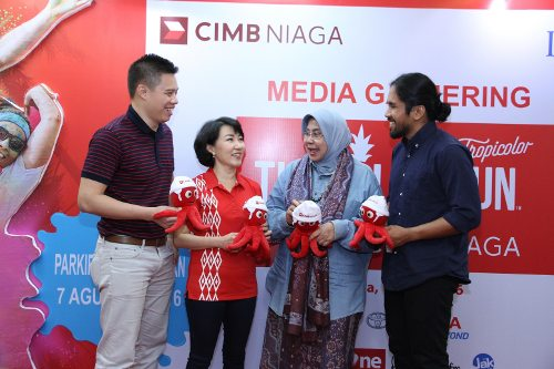The Color Run presented by CIMB Niaga